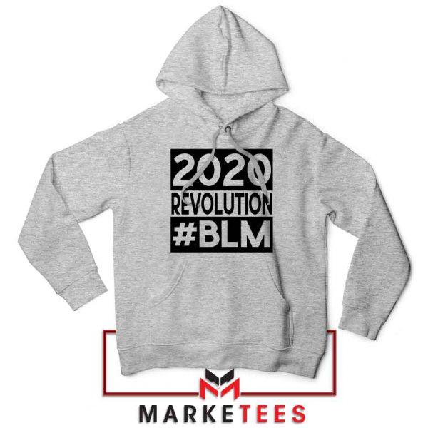 2020 Revolution #BLM Sport Grey Hoodie