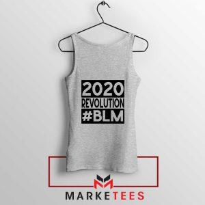 2020 Revolution #BLM Sport Grey Tank Top