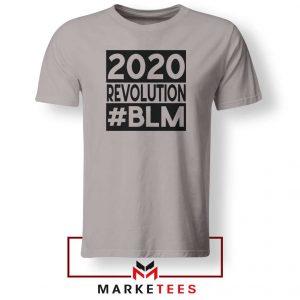 2020 Revolution #BLM Sport Grey Tshirt