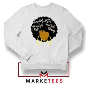 African American Woman Sweatshirt