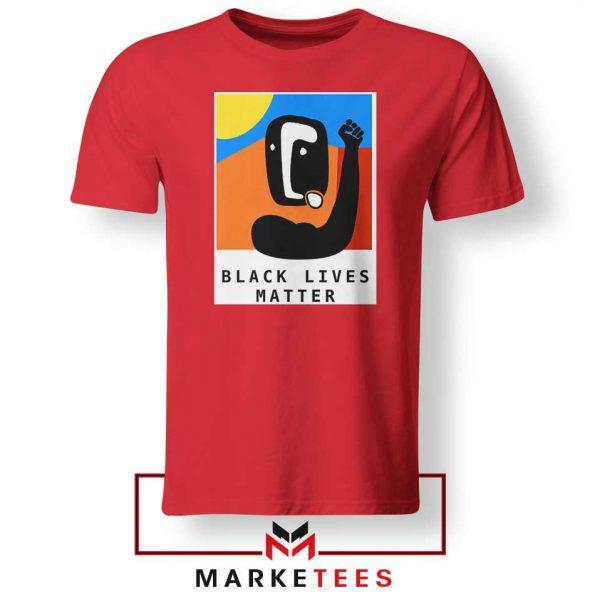 BLM African America Red Tshirt