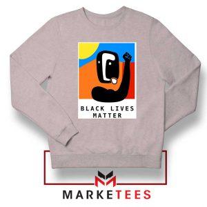 BLM African America Sport Grey Sweatshirt