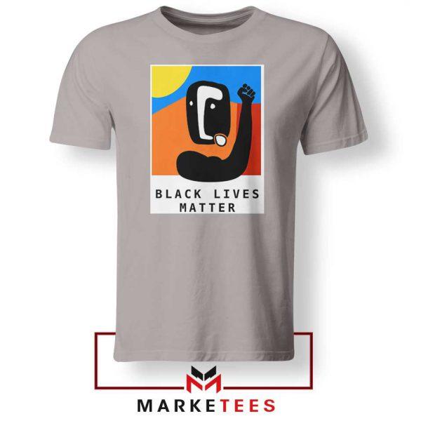 BLM African America Sport Grey Tshirt