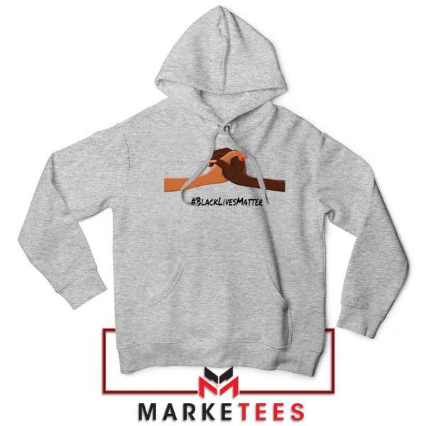 Black Lives Matter Sport Grey Hoodie