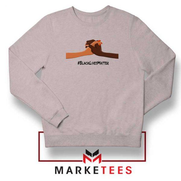 Black Lives Matter Sport Grey Sweatshirt