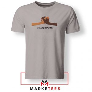 Black Lives Matter Sport Grey Tshirt