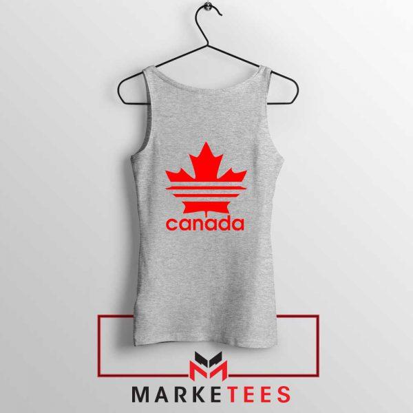 Canada Sport Maple Leaf Sport Grey Tank Top