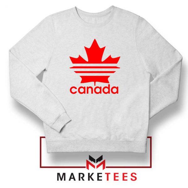 Canada Sport Maple Leaf Sweatshirt