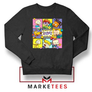 Cartoon Rugrats Boxes Sweatshirt