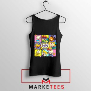 Cartoon Rugrats Boxes Tank Top