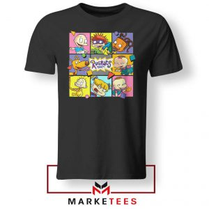 Cartoon Rugrats Boxes Tshirt