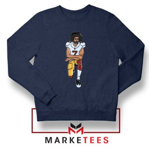 Colin Kaepernick Navy Blue Sweatshirt
