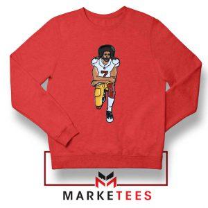 Colin Kaepernick Red Sweatshirt