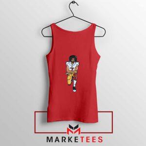 Colin Kaepernick Red Tank Top