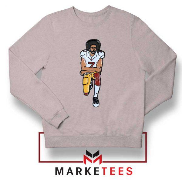 Colin Kaepernick Sport Grey Sweatshirt