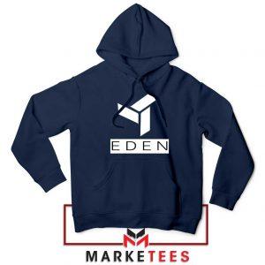 Eden Project Logo Navy Blue Hoodie