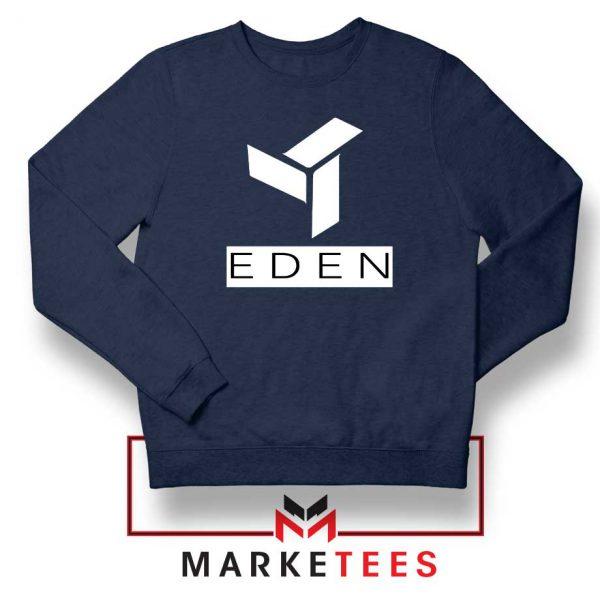 Eden Project Logo Navy Blue Sweatshirt