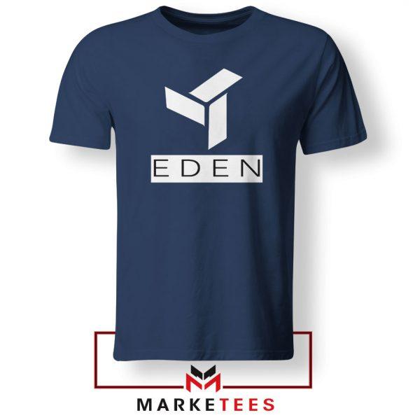 Eden Project Logo Navy Blue Tshirt
