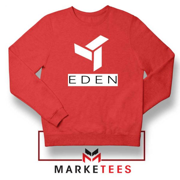 Eden Project Logo Red Sweatshirt