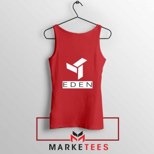Eden Project Logo Red Tank Top