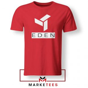 Eden Project Logo Red Tshirt