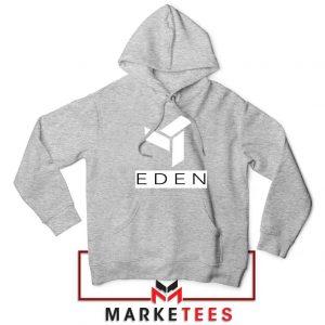 Eden Project Logo Sport Grey Hoodie