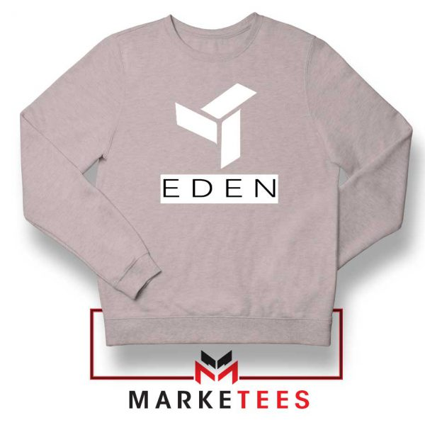 Eden Project Logo Sport Grey Sweatshirt