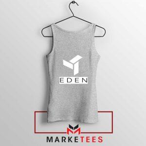 Eden Project Logo Sport Grey Tank Top