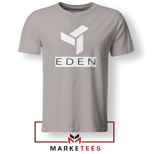 Eden Project Logo Sport Grey Tshirt