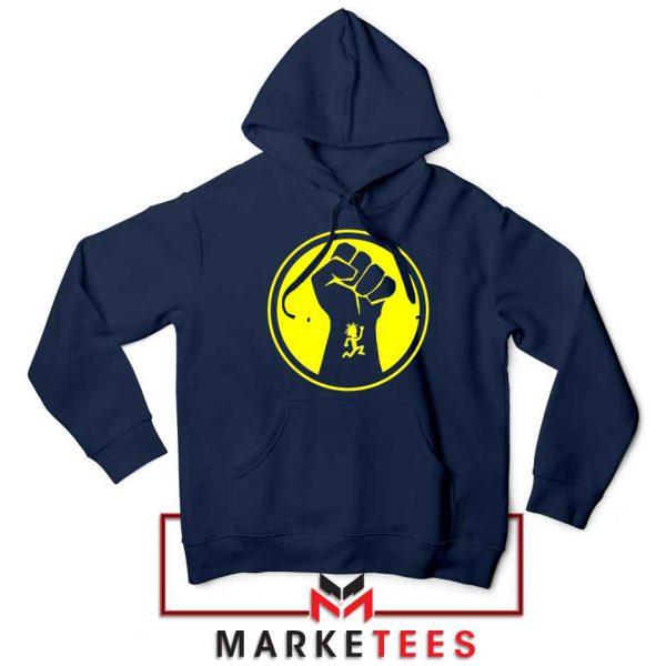 Golden Powers Navy Blue Hoodie