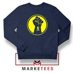 Golden Powers Navy Blue Sweatshirt