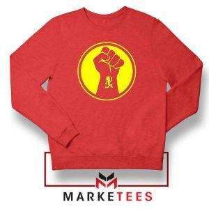 Golden Powers Red Sweatshirt