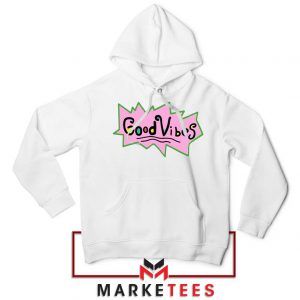 Good Vibes Rugrats Logo Hoodie