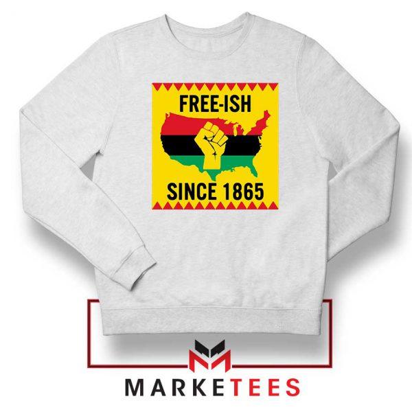 Juneteenth Day Flag Sweatshirt