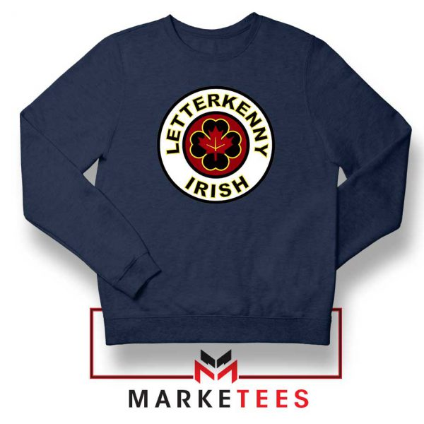 Letterkenny Irish Navy Blue Sweatshirt