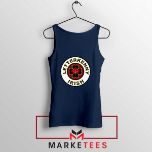 Letterkenny Irish Navy Blue Tank Top