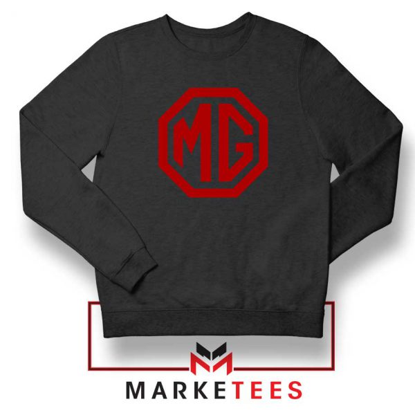 MG British Emblemm Black Sweatshirt