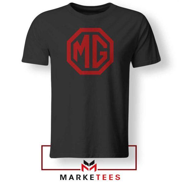 MG British Emblemm Black Tshirt