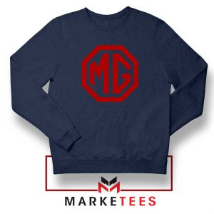 MG British Emblemm Navy Blue Sweatshirt