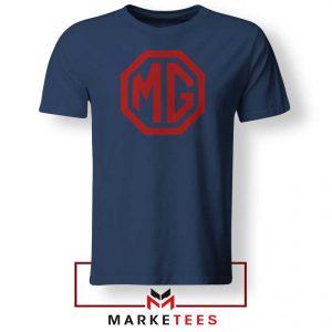 MG British Emblemm Navy Blue Tshirt