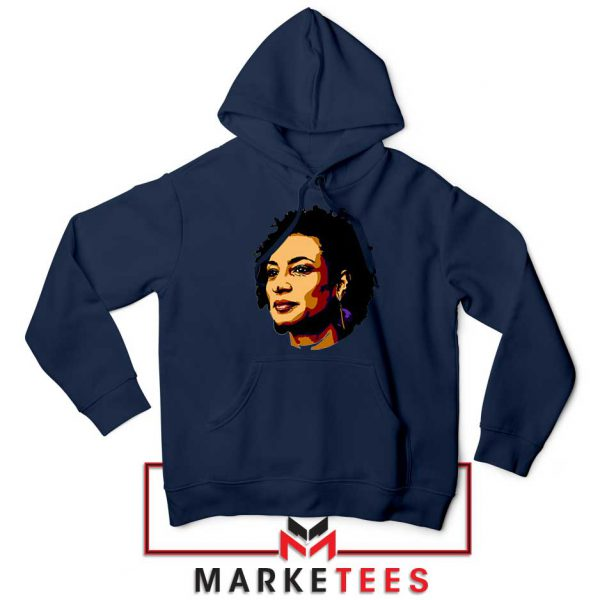 Marielle Franco Presente Navy Blue Hoodie