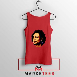 Marielle Franco Presente Red Tank Top