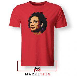 Marielle Franco Presente Red Tshirt