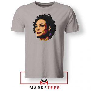 Marielle Franco Presente Sport Grey Tshirt