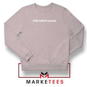 Marielle Presente Hashtag Sport Grey Sweatshirt