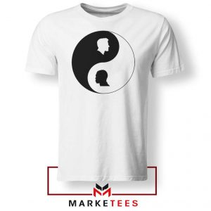 No To Racism Yin Yan Symbol Tshirt