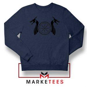 Norse Dragon Navy Blue Sweatshirt