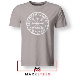 Norse Vegvisir Sport Grey Tshirt