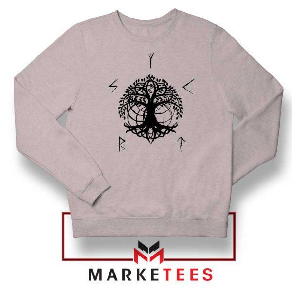 Norse Yggdrasill Sport Grey Sweatshirt