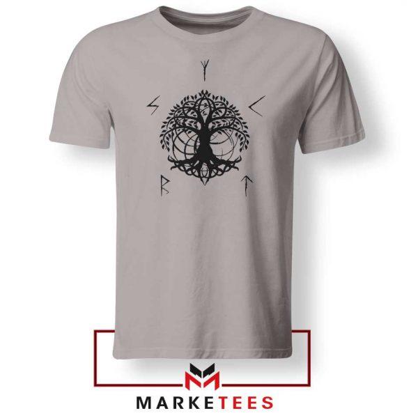 Norse Yggdrasill Sport Grey Tshirt